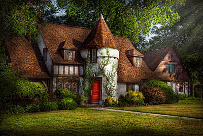 House - Westfield Nj - Fit For A King Art Print by Mike Savad