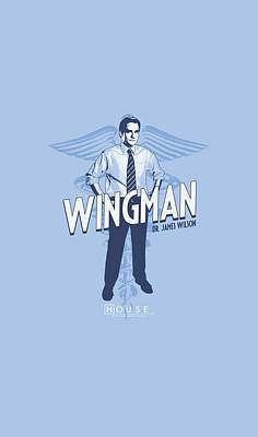 Gregory House Digital Art - House - Wingman by Brand A
