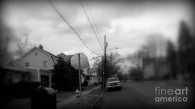 Photograph - House With Car by Miriam Danar
