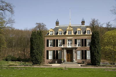 House Zypendaal In Arnhem Netherlands Print by Ronald Jansen