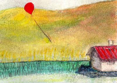 Houseballoon Print by James Raynor