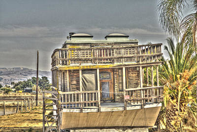 Photograph - Houseboat 2 by SC Heffner
