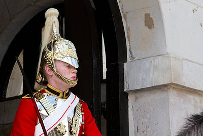 Household Cavalry Print by Fizzy Image