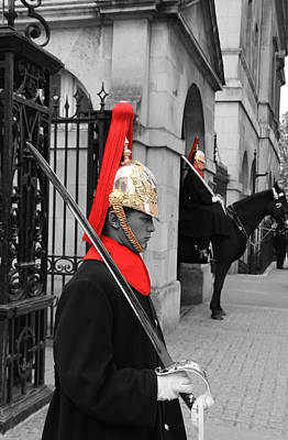 Household Cavalry Guards  Print by David French