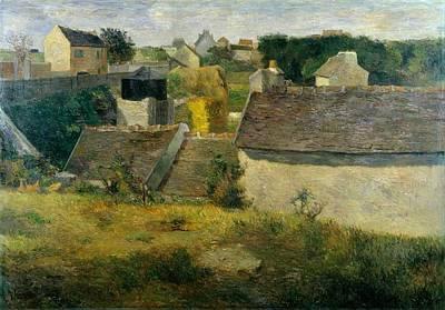 Jerusalem Painting - Houses At Vaugirard by Paul Gauguin
