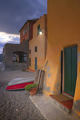 Photograph - Houses By The Sea 9 by Giovanni Allievi