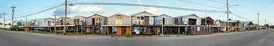 Hurricane Katrina Photograph - Houses Destroyed After Hurricane by Panoramic Images