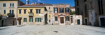 Houses In A Town, Campo Dei Mori Art Print