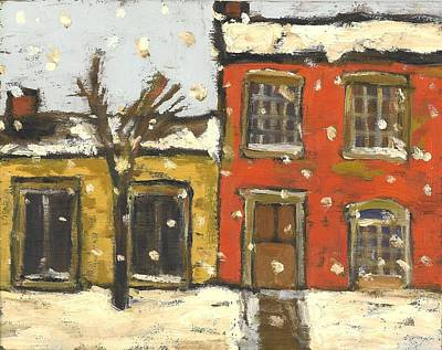 Houses In Sydenham Ward Art Print