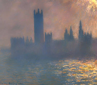 Houses Of Parliament Art Print by Mountain Dreams