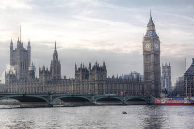 Photograph - Houses Of Parliament by Leah Palmer