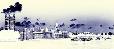 Pop Art - Houses of Parliament  by Rob Hawkins