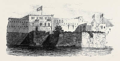 Houses Of The English And French Consuls At Rabat In Morocco Art Print