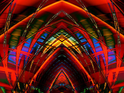 Digital Art - Houses Of The Holy 2 by Kiki Art