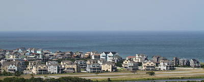 Houses Photograph - Houses Off Hatteras Light 2 by Cathy Lindsey