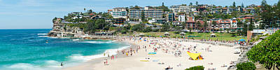 Sydney Vacation Photograph - Houses On The Coast, Bronte Beach by Panoramic Images