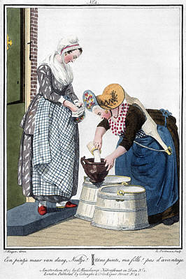 Housewife Painting - Housewife, 1811 by Granger