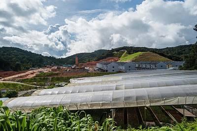 Destruction Photograph - Housing Development And Farms by Scubazoo