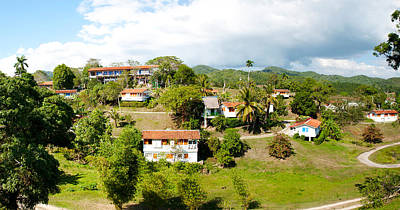 Housing For Residents At Las Terrazas Print by Panoramic Images