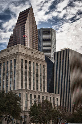Photograph - Houson Cityscape by James Woody