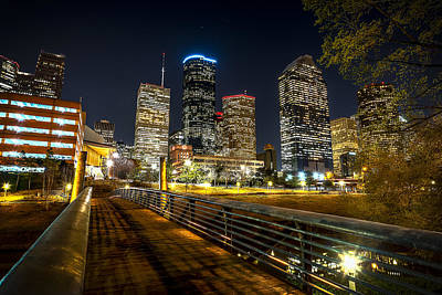 Photograph - Houston Across The Bayou by David Morefield