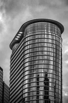Photograph - Houston Architecture by James Woody