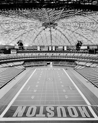 Houston Astrodome Art Print by Benjamin Yeager