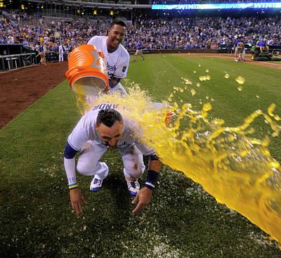 Photograph - Houston Astros V Kansas City Royals by Ed Zurga