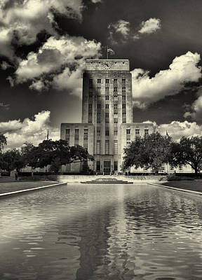 Photograph - Houston City Hall by Joshua House