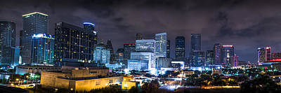 Photograph - Houston City Lights by David Morefield