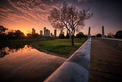 Photograph - Houston Dawn by Chris Multop