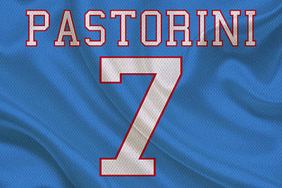 Oilers Photograph - Houston Oilers Dan Pastorini by Joe Hamilton