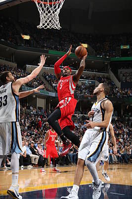 Photograph - Houston Rockets V Memphis Grizzlies by Joe Murphy
