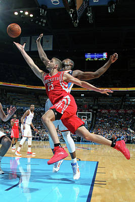 Photograph - Houston Rockets V Oklahoma City Thunder by Layne Murdoch Jr.