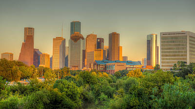 Photograph - Houston Skyline by Gregory Cox