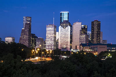 Photograph - Houston Texas Evening  by John McGraw