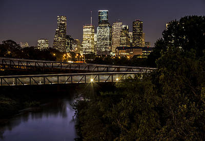 Photograph - Houston Texas Skyline  by John McGraw