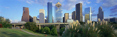 Bayou Photograph - Houston, Texas, Usa by Panoramic Images
