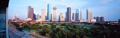 Houston Tx Art Print by Panoramic Images