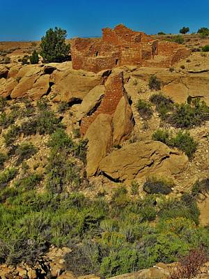Photograph - Hovenweep Cajon Group by Lisa Dunn