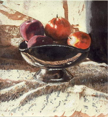 Painting - How Bout Those Apples II by John Brisson