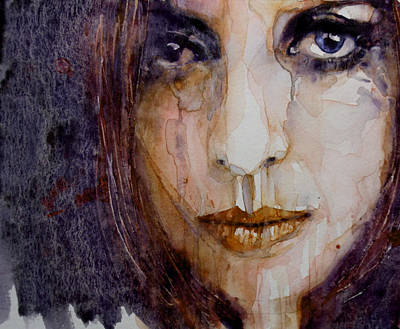 Lips Painting - How Can You Mend A Broken Heart by Paul Lovering