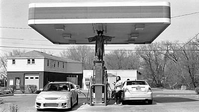 How Do You Pump Gas Art Print by Chris Luechung