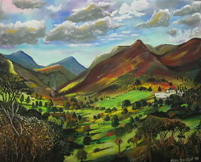 Pastel - How Green Is My Valley by Mike Benton