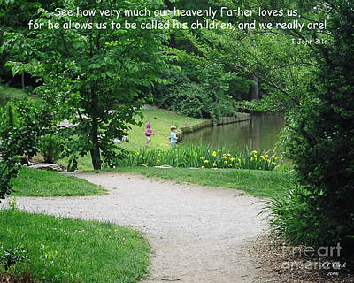 Photograph - How He Loves Us by Sandra Clark
