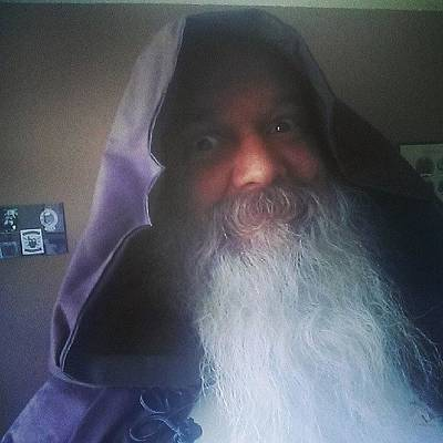 Wizard Photograph - How I Hope To Appear On Stage At The by Gary W Norman