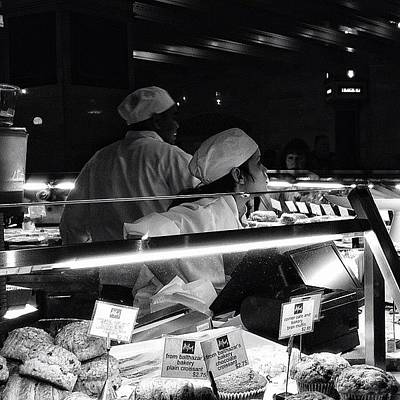 Instacnvs Photograph - How May I Help You? - Ny by Joel Lopez