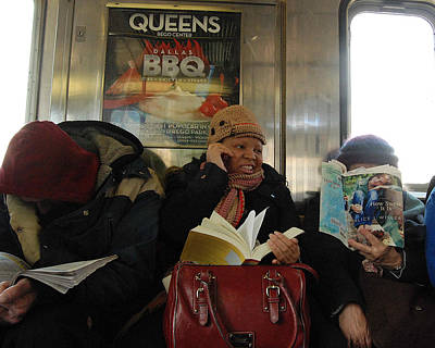 7 Train Photograph - How Sweet It Is by Philip Ralley