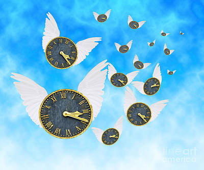 How Time Flies Art Print by Juli Scalzi