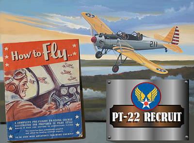 How To Fly  Pt-22 Recruit Original by Stuart Swartz